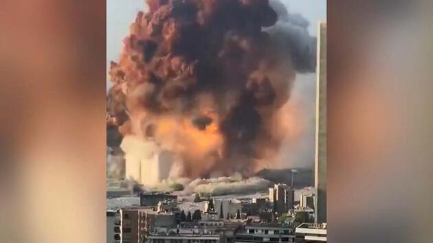 Son dakika... Beyrut'taki patlamadan kurtulan Türk anlattı: İnsanlar yere yığıldı