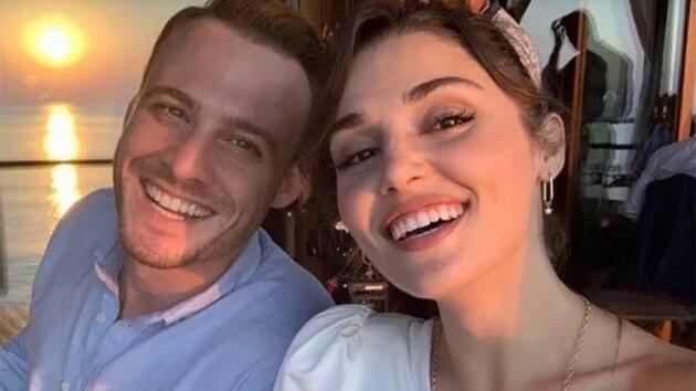 Kerem Bürsin ve Hande Erçel'in paylaşımlarına beğeni yağdı