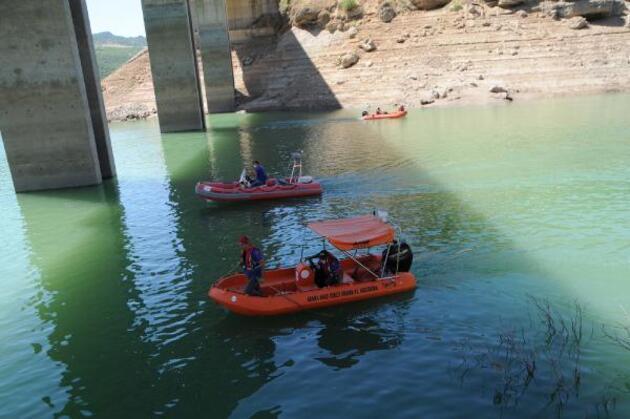 Son dakika... Gülistan'ı su altı arama çalışmaları 215'inci günde tekrar başlatıldı