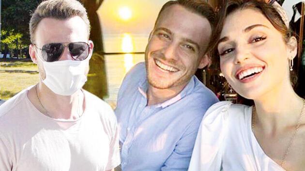 Kerem Bürsin, Hande Erçel ile aşk mı yaşıyor? Açıklama geldi...