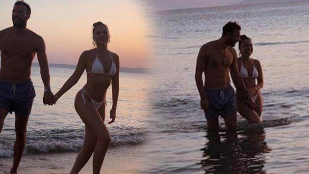 Duygu Özaslan'dan sevgilisi Can Maxim Mutaf ile tatil pozları