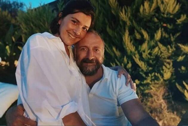 Bergüzar Korel ve Halit Ergenç evliliklerinin 11. yılını kutladı