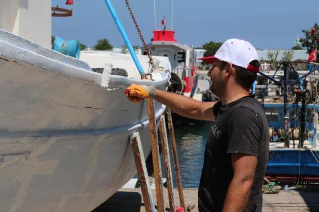 Son dakika... Karadenizli balıkçılar yeni av sezonuna hazırlanıyor