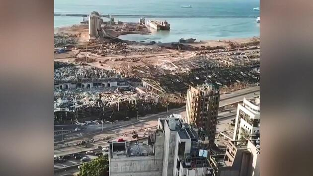 'Kıyamete' farklı bakış! Beyrut'ta ağır bilanço