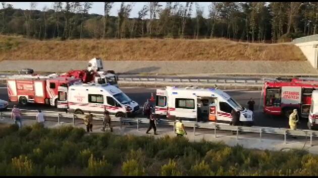 Son dakika... İstanbul'da otobüs kazası: Ölü ve yaralılar var