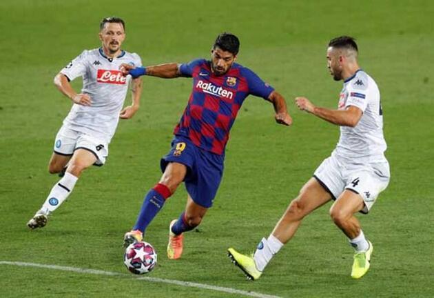 Barcelona-Napoli maçına Cüneyt Çakır damgası!