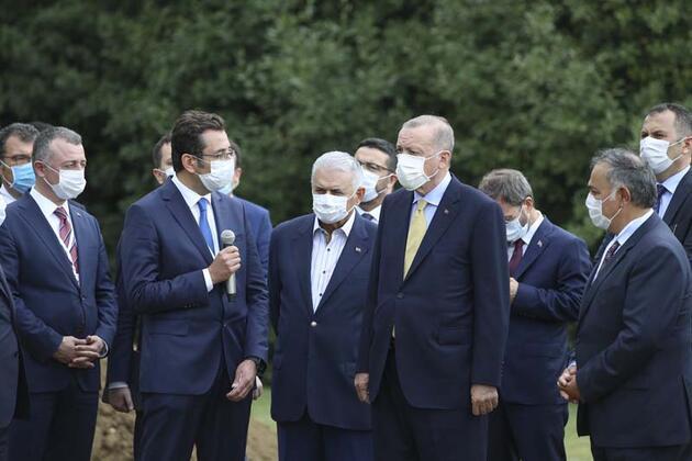 Son dakika... Cumhurbaşkanı Erdoğan TÜBİTAK Mükemmeliyet Merkezi'nde