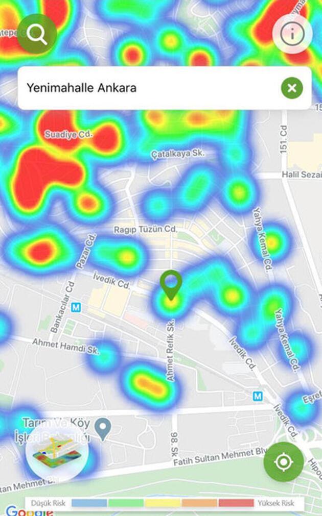 Bakan Koca'nın uyardığı 4 kentte son durum! İşte koronavirüs yoğunluk haritası