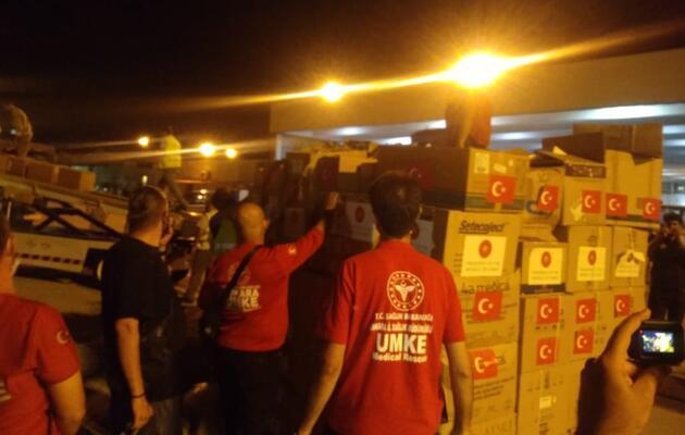 Son dakika haberi... MSB duyurdu! Lübnan'a yardım eli