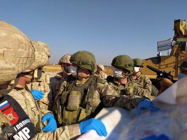 Son dakika... 24'üncü Türk-Rus kara devriyesi icra edildi