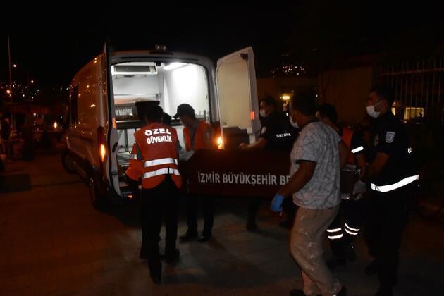 İzmir'de korkunç olay! Bir anda raylara atladı