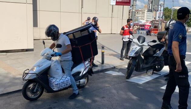 Son dakika... Taksim'de uygulamada polisi şoke eden görüntü