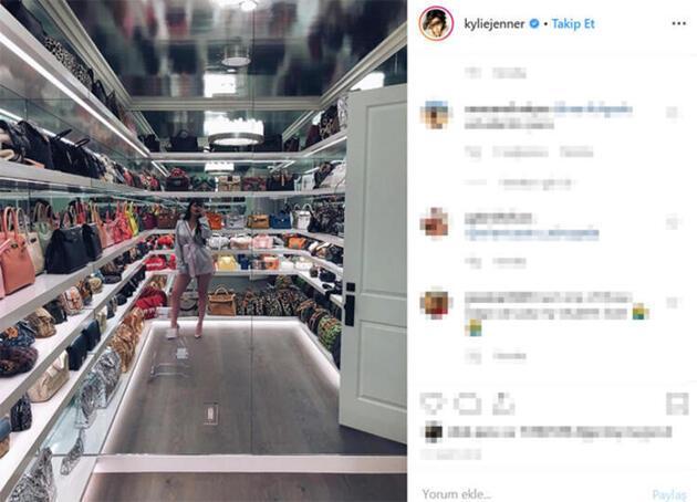 Kylie Jenner: Başka yerde olmak istemezdim