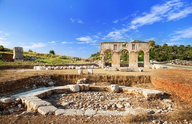 Türk turizminin başkenti Antalya'da görülmesi gereken antik kentler