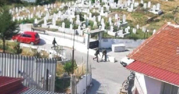 Yunan komandolardan Türk köyünde tatbikat