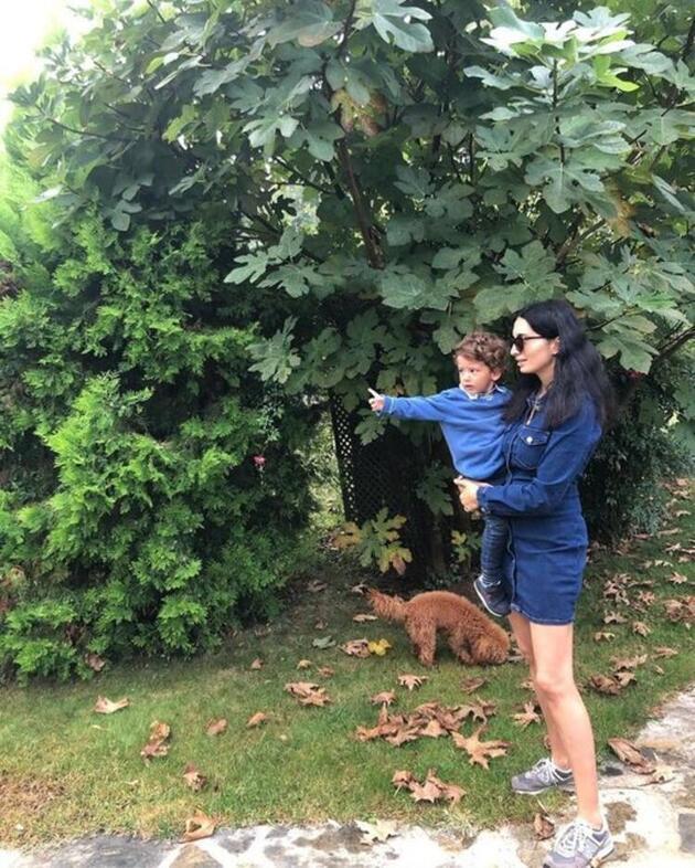 Başak Sayan'ın doğa ile iç içe yeni hayatı
