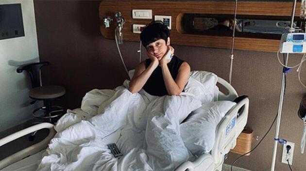 Gonca Vuslateri hastane odasından paylaştı!