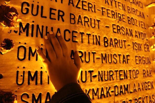 Marmara Depremi'nde hayatını kaybedenler Yalova'da anıldı
