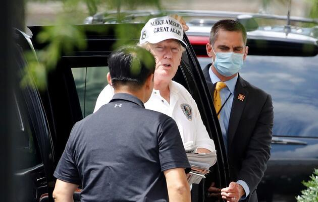 Trump'ın kardeşi öldü, golfe devam etti