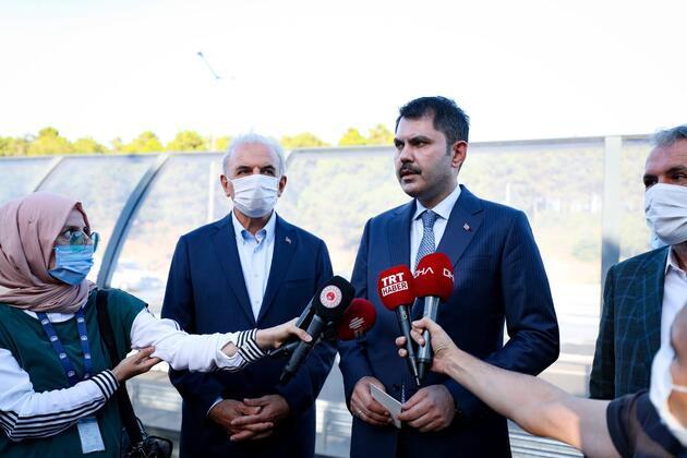İstanbul'da bir ilk! Bakan Kurum yerinde inceledi