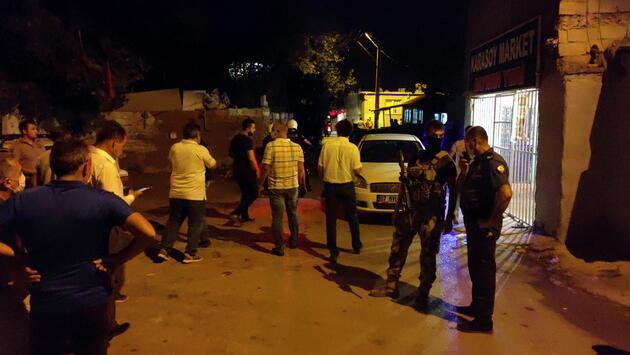 Şüpheliyi gözaltına almak isteyen polis ekibine saldırı: 1 polis yaralı