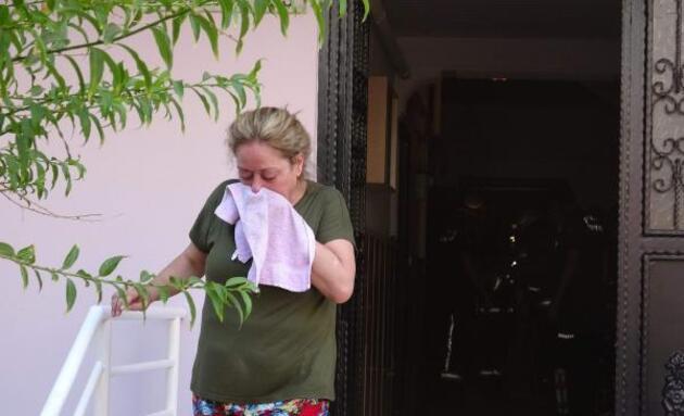 Son dakika... Yangında balkonda mahsur kalan yaşlı kadını, itfaiye kurtardı