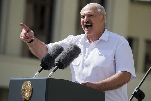 Son dakika... Rus istihbarat teşkilatı başkanının uçağı, Minsk'te