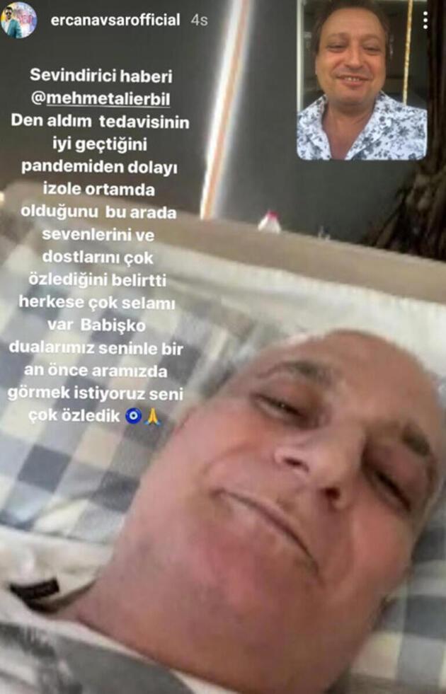 Son dakika... Mehmet Ali Erbil'den sevindirici haber