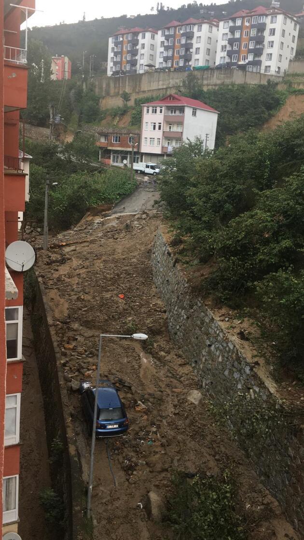Giresun'da sel felaketi! Bakanlar bölgede son durumu aktardı