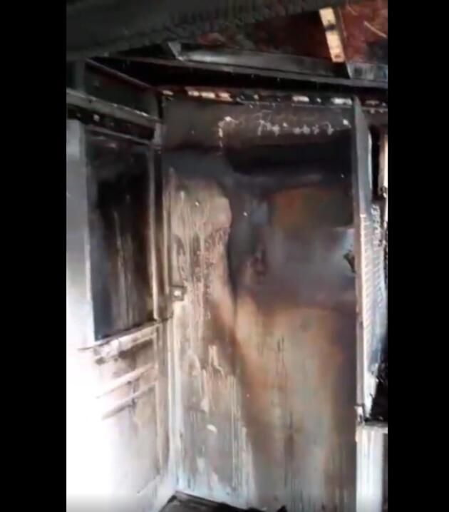 Şarkıcı Lara'nın evinde yangın çıktı