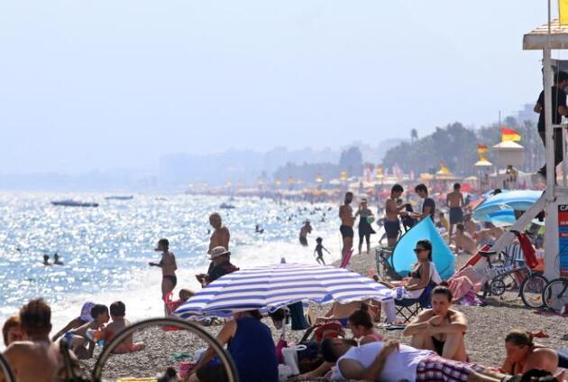 Son dakika.. Antalya'da termometreler 45 dereceyi gördü