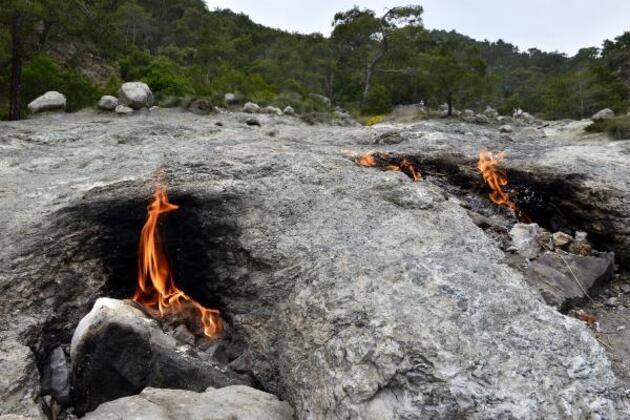 2 bin 500 yıldır aktif olan doğa harikası: Chimaera