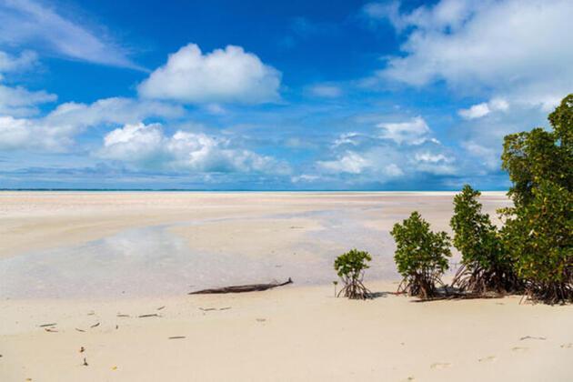 İki günü aynı anda yaşayan ülke Kiribati