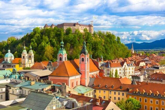 Avrupa'nın en temiz başkenti Ljubljana