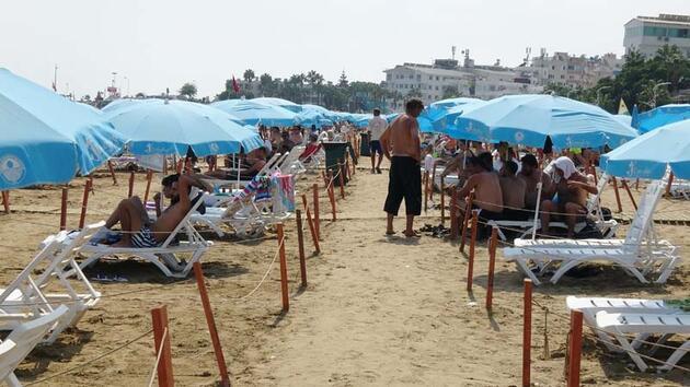 Son dakika... Yerli ve yabancı turistlerden 'Kızkalesi'ne yoğun ilgi