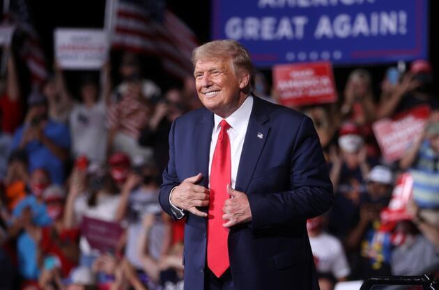 Trump: 4 yıl daha kazanacağız, sonra da belki bir 4 yıl daha isteriz