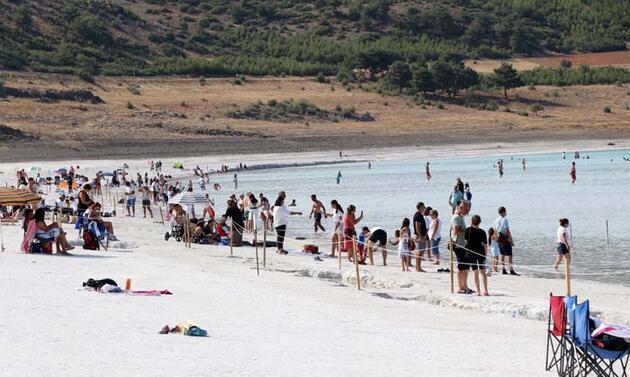 Salda'ya normalleşme sürecinde 600 bin ziyaretçi!