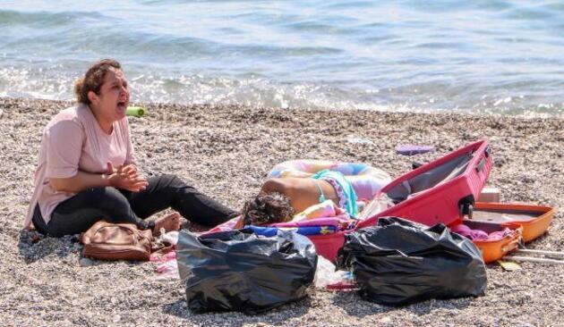 Son dakika.. Sahilde 'Ölmek istemiyorum' diye ağlayan kadın, koronavirüslü çıktı