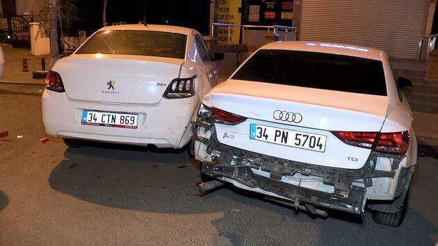Ataşehir'de 'makas' kazası: 1'i ağır, 6 yaralı