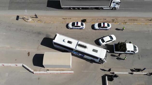 Son dakika... 43 ilin geçiş noktası! Otobüsler tek tek durduruluyor...