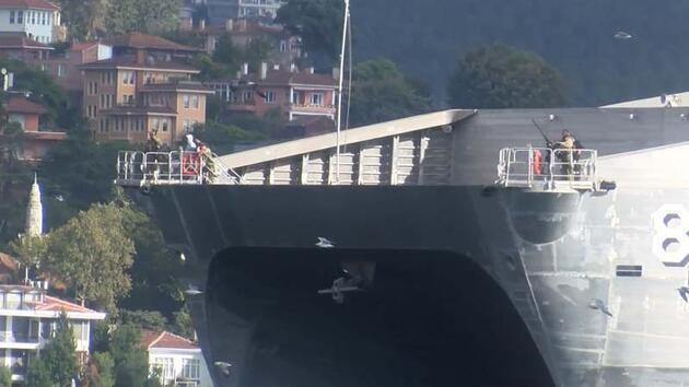 Son dakika... ABD'nin bir donanma gemisi daha Karadeniz'de