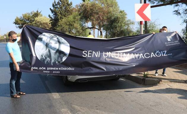'Maskeli Şebnem' son yolculuğuna uğurlandı