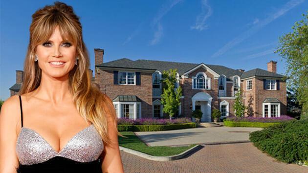 Heidi Klum'un evine beklenmedik misafir! Hemen polisi aradılar