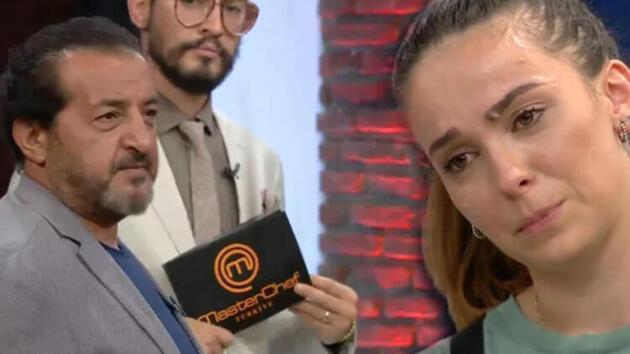 MasterChef'te Mehmet Yalçınkaya, Tanya'yı ağlattı
