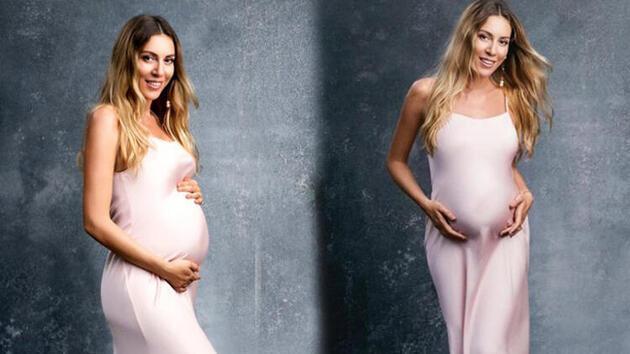 Sinem Kobal'dan hamilelik pozu
