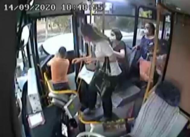 Son dakika.. Toplu taşıma aracında dehşeti yaşadılar