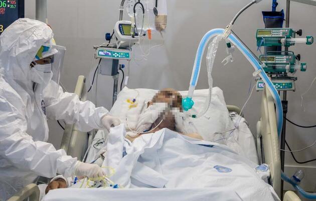 Koronavirüs hastalarının yaşamı bu hortumun ucunda