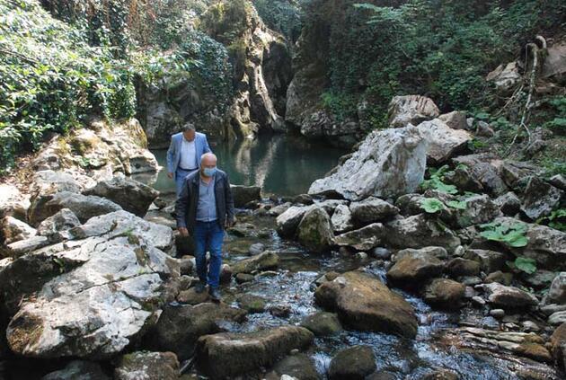Bartın'da kanyondaki şelaleler keşfedilmeyi bekliyor
