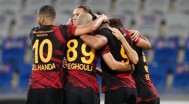 Galatasaray'dan 5 yıl sonra bir ilk