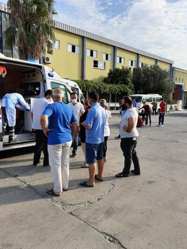 Son dakika... Patlayan amonyak borusundan gaz sızıntısı: 20 işçi zehirlendi